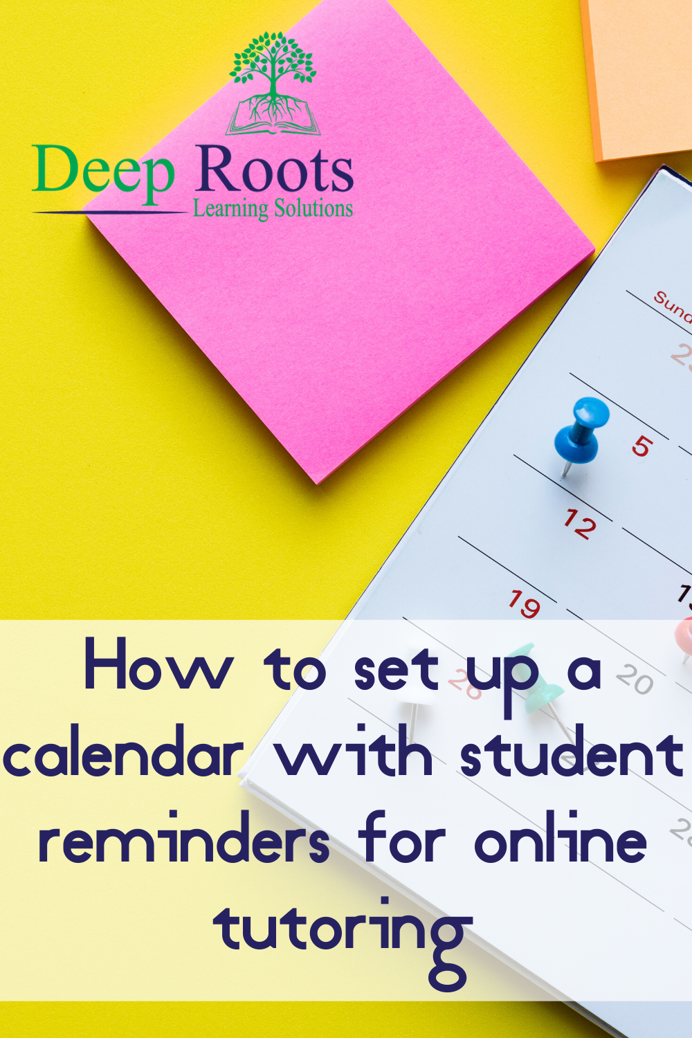 Title: How to set up a calendar with student reminders for online tutoring