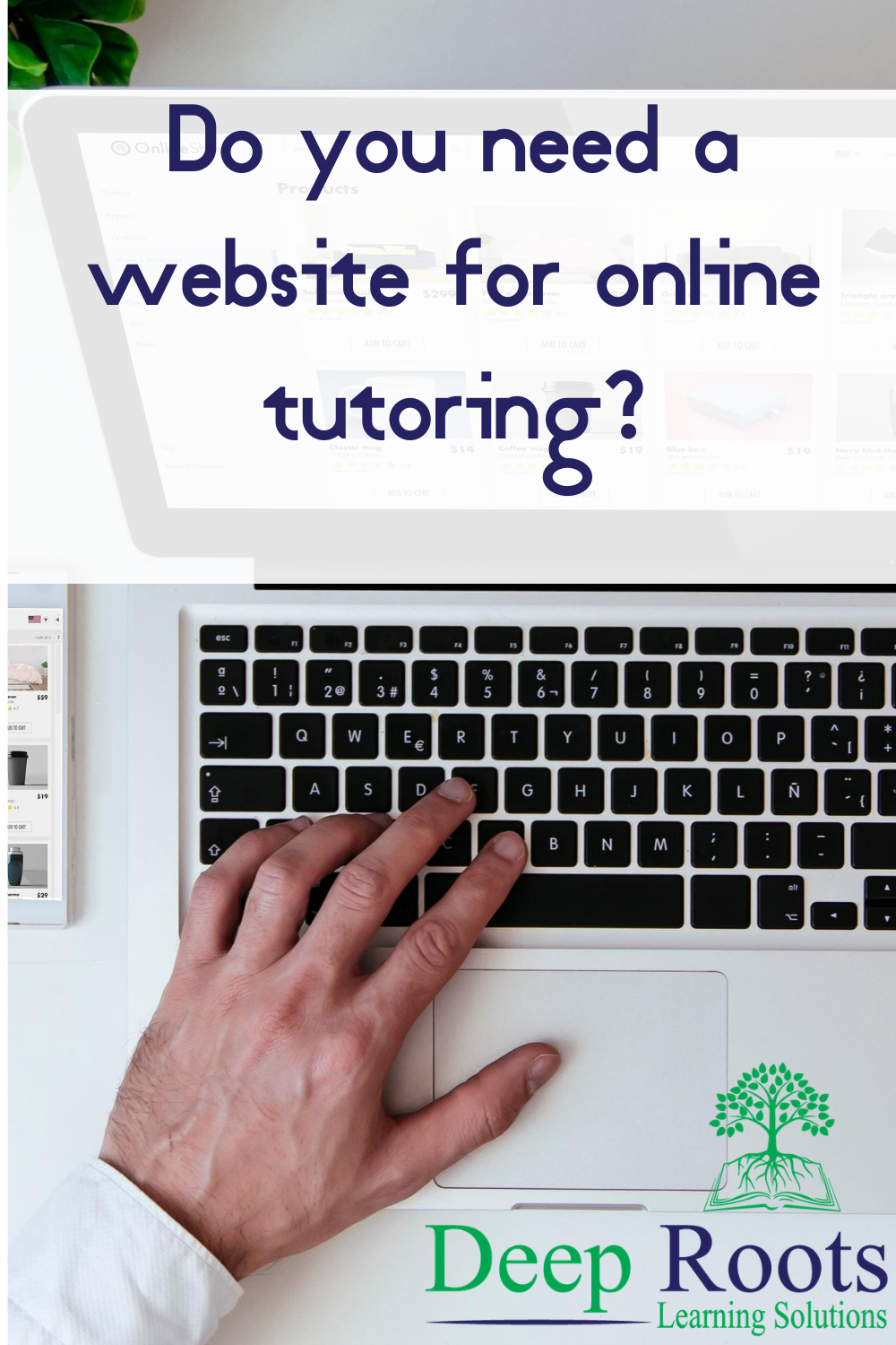 Do you need a website for online tutoring?